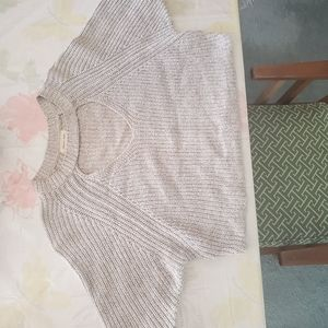 Silence and Noise Crop Sweater Size XS